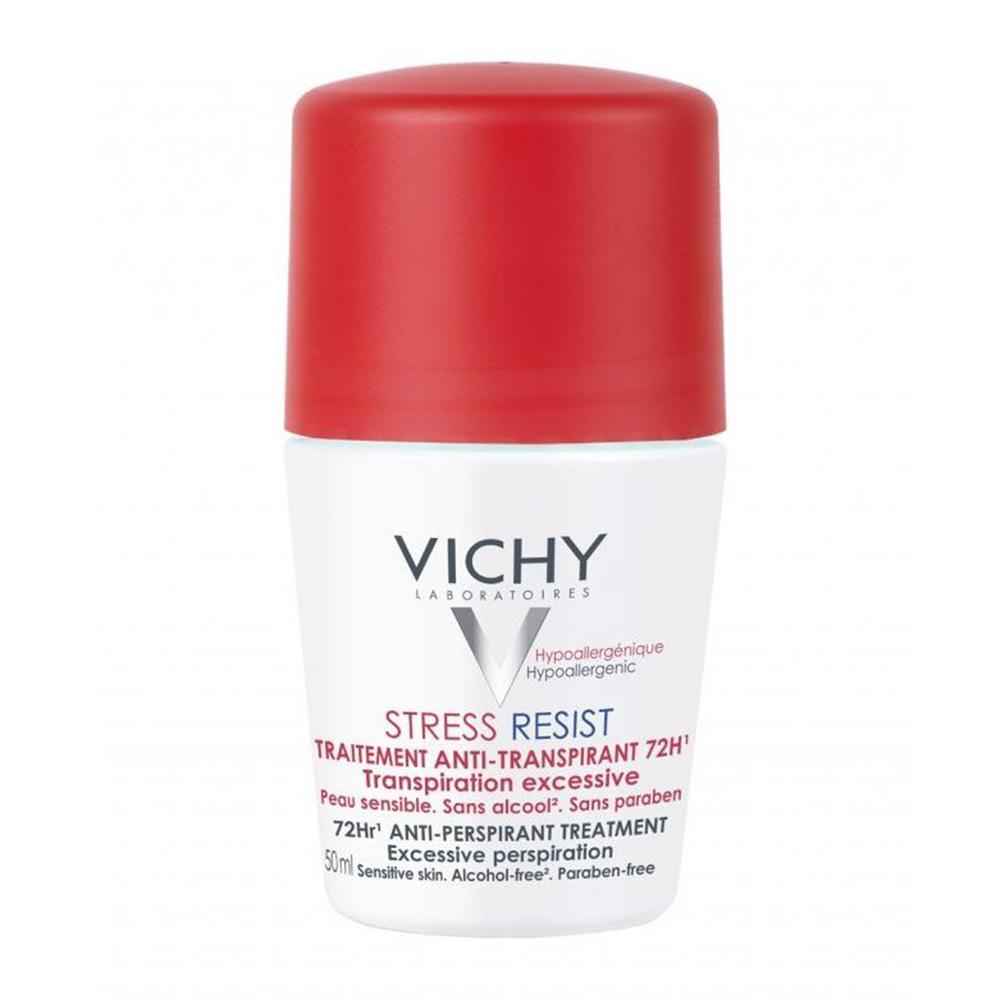 Vichy Αποσμητικό Roll on 72h stress resist για πολύ έντονη εφίδρωση, 50ml