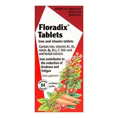 Power Health Floradix Tabs 84 κάψουλες