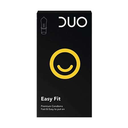 Duo Easy Fit Προφυλακτικά 12τμχ