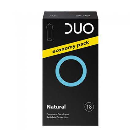 Duo Natural Προφυλακτικά Economy Pack 18τμχ