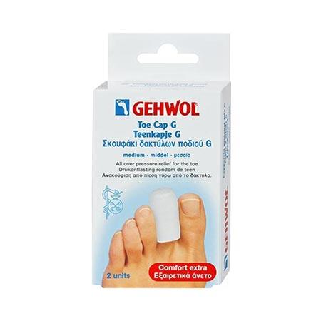 Gehwol Toe cap G/Μεσαίο, 2 τεμ. + Πούδρα Foot Powder 4gr