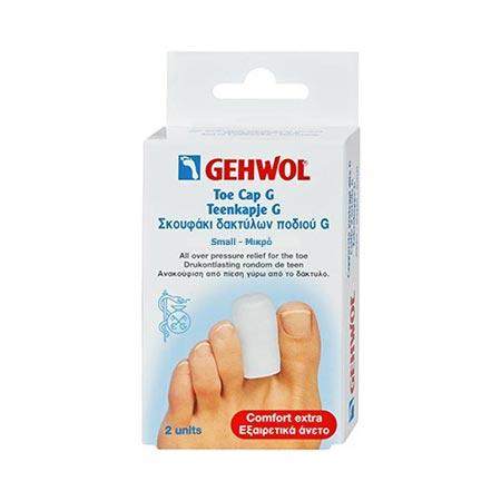 Gehwol Toe cap G/Μικρό, 2 τεμ. + Πούδρα Foot Powder 4gr