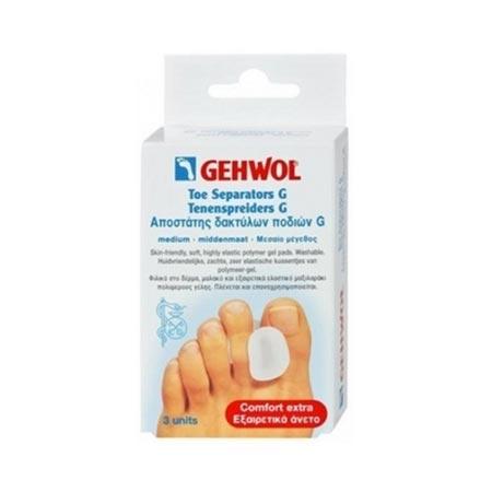 Gehwol Toe Separator G/Μεσαίο, 3 τεμ. + Πούδρα Foot Powder 4gr