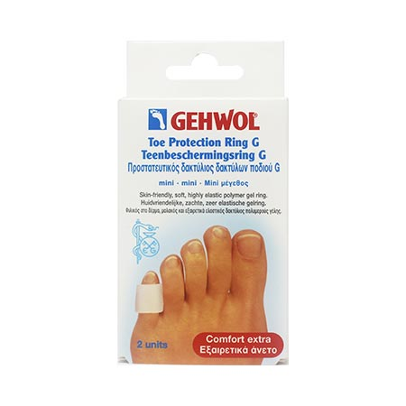 Gehwol Toe Protection Ring G/Mini, 2 τεμ. + Πούδρα Foot Powder 4gr