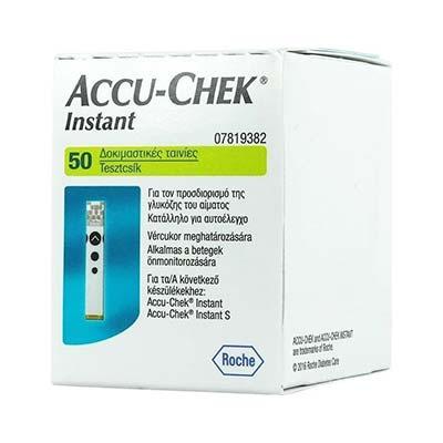 Accu-Chek Instant 50 Ταινίες Μέτρησης Σακχάρου