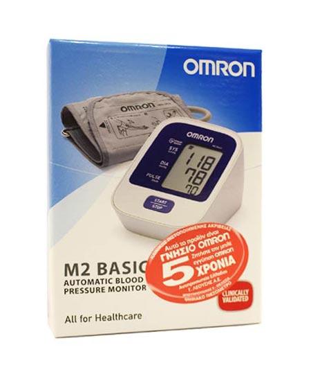 Omron M2 Basic Intellisence Ηλεκτρονικό Υπεραυτόματο Πιεσόμετρο Μπράτσου (HEM-7120-E)
