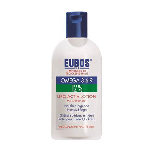 Eubos 12% Omega 3-6-9 Lipo Active Lotion, 200ml