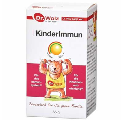 Power Health Dr. Wolz KinderImmun με Πρωτόγαλα & Βιταμίνη D 65gr