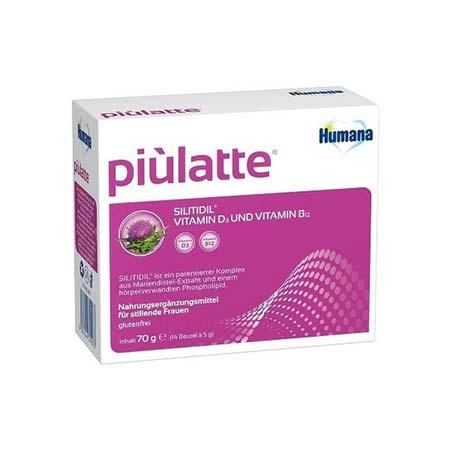 Humana Piulatte Συμπλήρωμα Διατροφής για Θηλάζουσες Γυναίκες 70gr