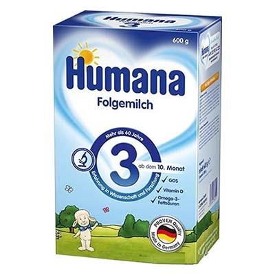 Humana Optimum 3 ρόφημα γάλακτος σε σκόνη 12+ 600gr