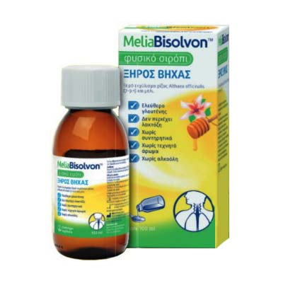 MeliaBisolvon Φυσικό Σιρόπι για ξηρό βήχα 100ml