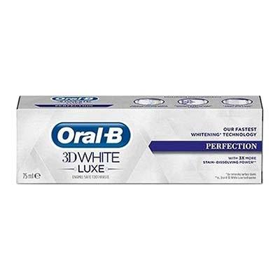Oral-B 3D White Luxe Perfection Οδοντόκρεμα απαλή με το σμάλτο 75ml