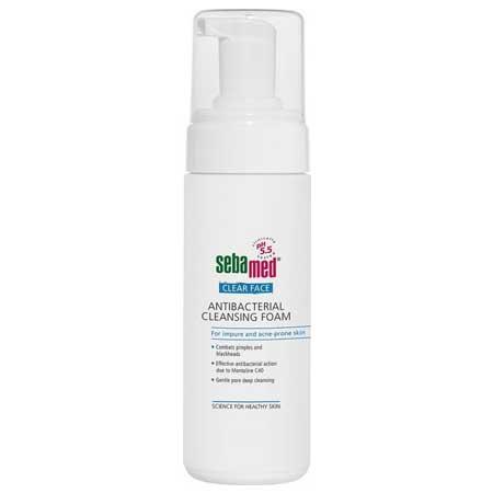 Sebamed Clear Face Antibacterial Cleansing Foam  Ακμή/Λιπαρό Δέρμα 150ml