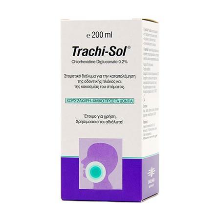 Trachi-Sol Mouthwash Chlorhexidine Digluconate 0.2% 200ml