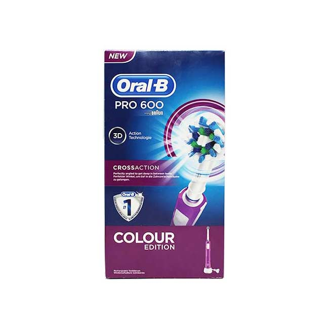 Oral-B Professional Care Pro 600 3D Colour Edition, Ηλεκτρική οδοντόβουρτσα