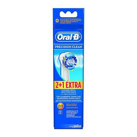 Oral-B precision clean Ανταλλακτικές Κεφαλές 2+1 ΔΩΡΟ