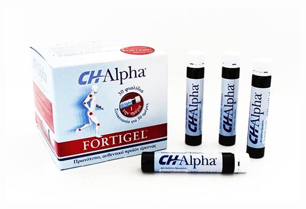 CH Alpha Fortigel Υδρολυμένο Πόσιμο Κολλαγόνο 30φιαλίδια x 25ml
