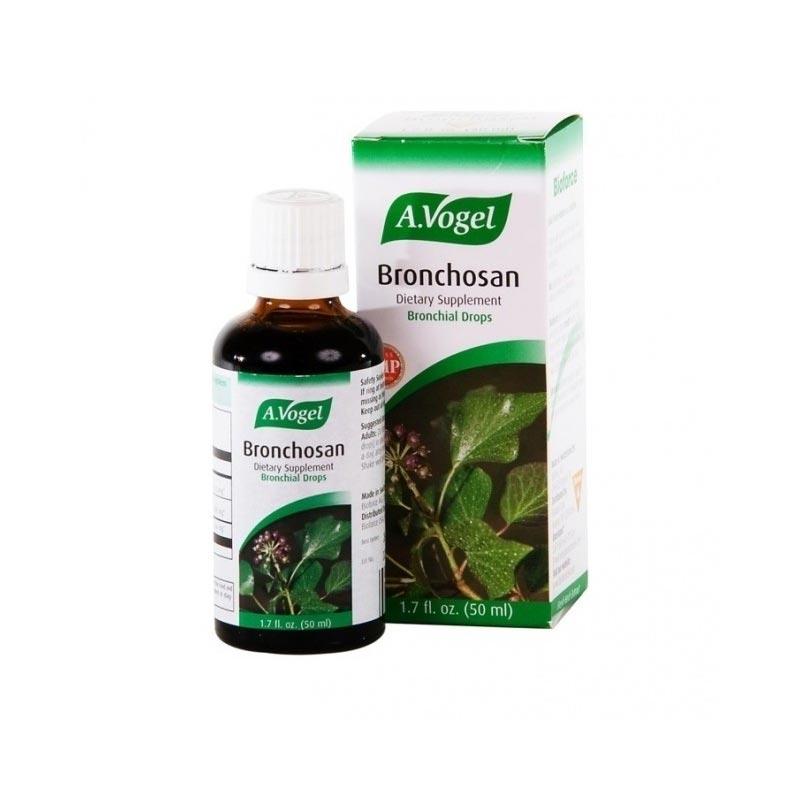 A. Vogel Bronchosan, Φυτικό Καταπραϋντικό για τον Λαιμό και τους Βρόγχους 50ml