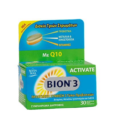 BION3 Activate, 30 δισκία