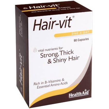 Health Aid Hair-Vit Hairvit 90caps