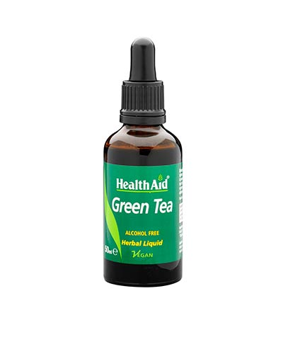 Health Aid Green Tea Liquid 50ml