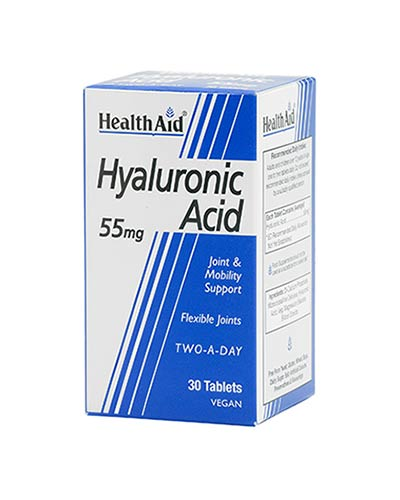 Health Aid Hyaluronic Acid 55mg 30tabs