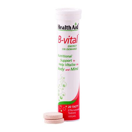 Health Aid B-VITAL, 20 αναβρ. δισκία