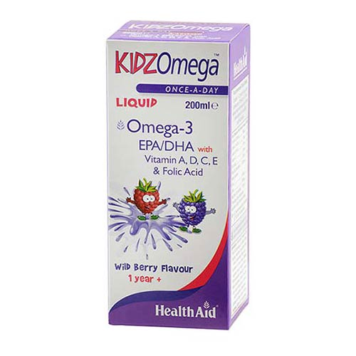 Health Aid KidZ Omega Liquid 200ml