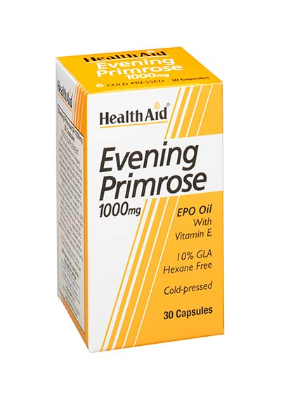 Health Aid Evening Primrose 1000mg 30caps