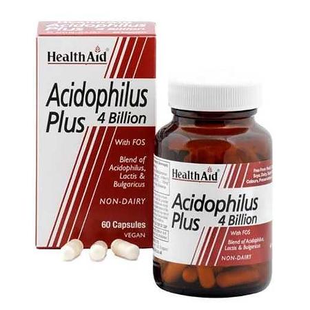 Health Aid Acidophilus Plus 60 κάψουλες