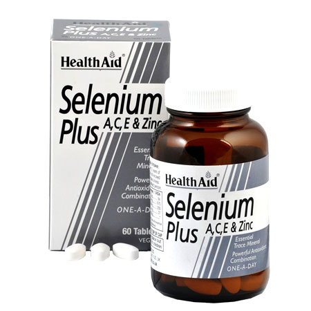 Health Aid Selenium Plus Συμπλήρωμα Διατροφής 200μg 60tab