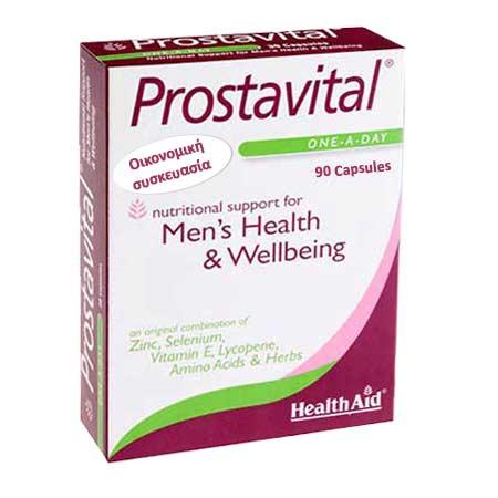 Health Aid Prostavital 90caps - Οικονομική Συσκευασία