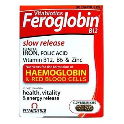 Vitabiotics Feroglobin Slow Release 30 caps