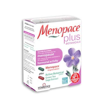 Vitabiotics Menopace Plus Dual Pack 56 Tabs