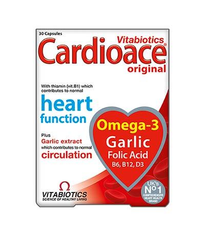 Vitabiotics Cardioace Original 30caps