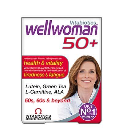Vitabiotics Wellwoman 50+, 30 tabs