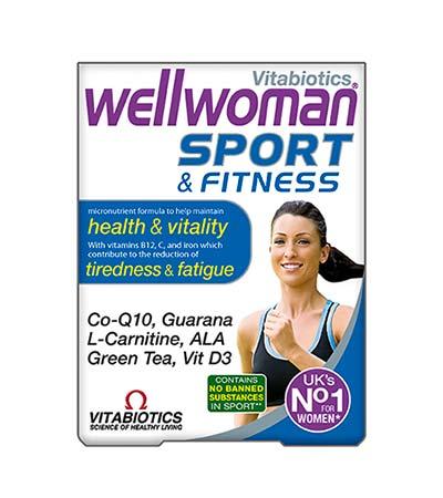 Vitabiotics Wellwoman Sport & Fitness, 30 tabs