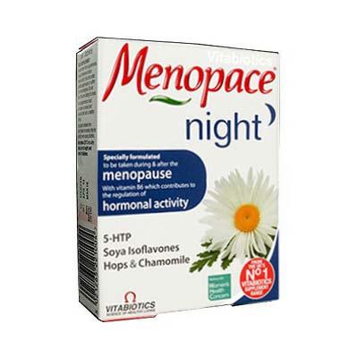 Vitabiotics Menopace Night 30 tabs