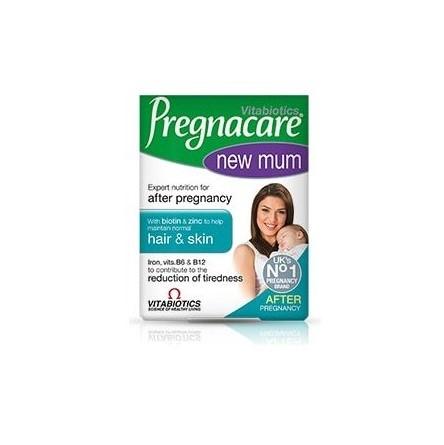Vitabiotics Pregnacare new mum με βιταμίνες, κολλαγόνο, ασβέστιο, σίδηρο & βιοτίνη 56tabs