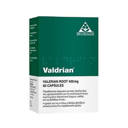Valdrian caps 60s Power Health