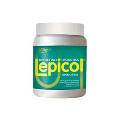 Lepicol Φυτικές Ίνες - Προβιοτικά Σε Σκόνη 180g