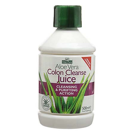 Optima Aloe Vera Juice Colon Cleanse 500ml