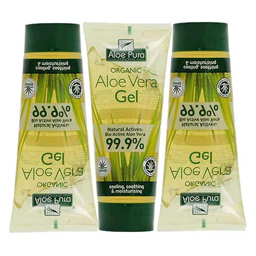 ULTIMATE PROMO SET 3 x Optima Organic Aloe Vera Gel 3x200ml