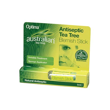 Optima Australian Tea Tree Antiseptic Blemish Stick, 7ml