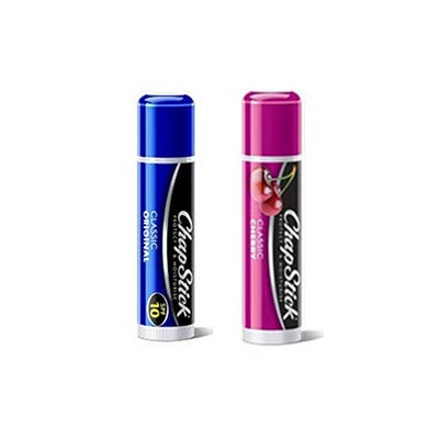 Chapstick Classic Original Lip Balm σε Stick Spf10 4gr + Chapstick Cherry, Lip Balm σε Stick 4gr