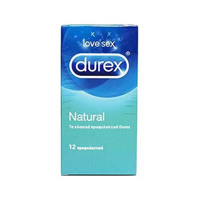 Durex Προφυλακτικά Natural 12τεμ