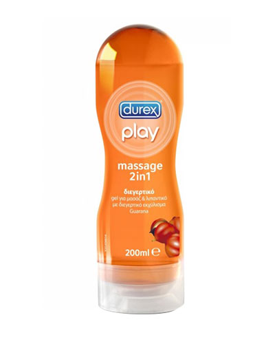 Durex Play Massage 2 σε 1 Guarana 200ml