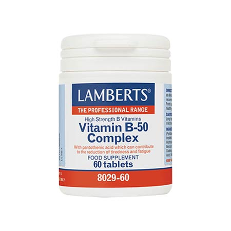 Lamberts Vitamin B-50 Complex 60 tabs