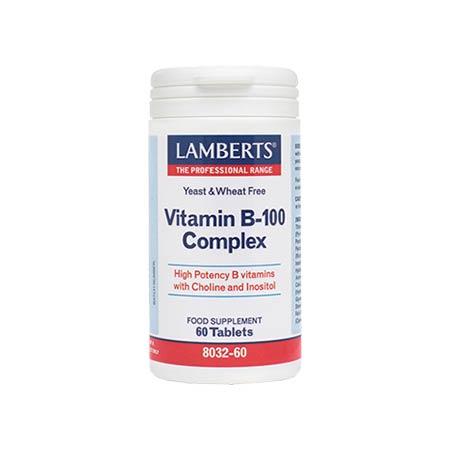 Lamberts Vitamin B 100 Complex 60 tabs
