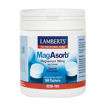Lamberts MagAsorb 180tabs